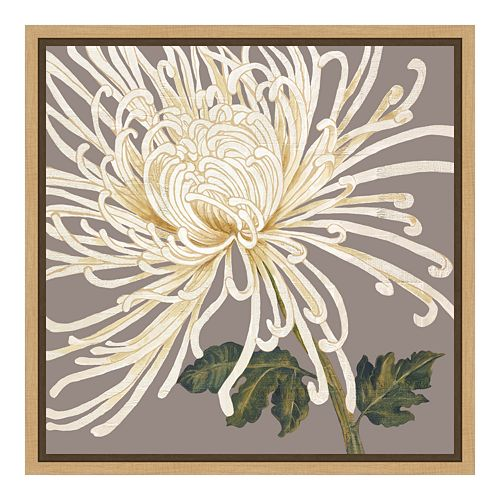 Amanti Art Grande Floral Canvas Framed Wall Art