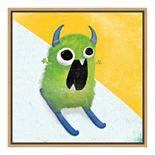 Amanti Art Xtreme Monsters II Canvas Framed Wall Art