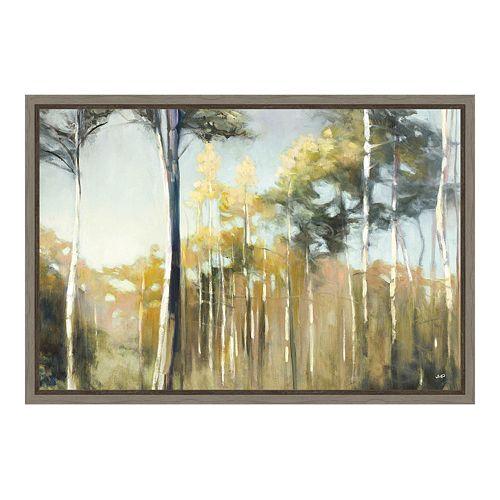 Amanti Art Aspen Reverie Canvas Framed Wall Art