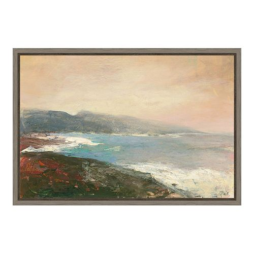 Amanti Art Crop Canvas Framed Wall Art