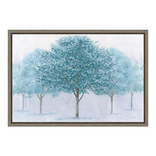 Amanti Art Peaceful Grove Canvas Framed Wall Art