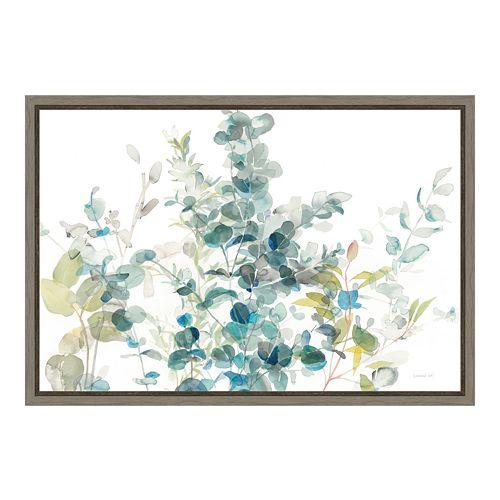 Amanti Art Eucalyptus I Canvas Framed Wall Art