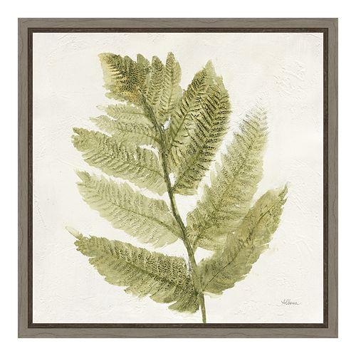 Amanti Art Forest Ferns I Canvas Framed Wall Art