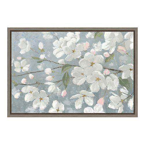 Amanti Art Spring Beautiful Canvas Framed Wall Art