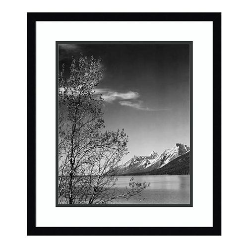 Amanti Art View of Mountains Framed Wall Art