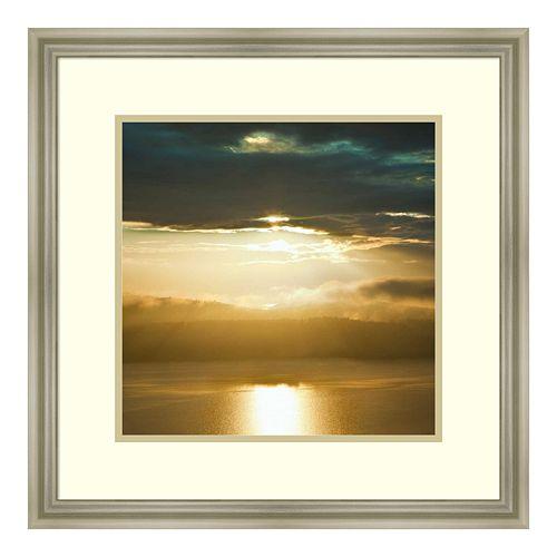 Amanti Art Orcas Sunset 1 Framed Wall Art