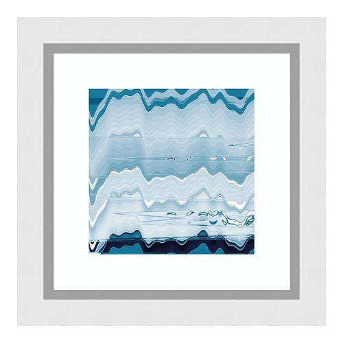 Amanti Art Ice Pools Framed Wall Art