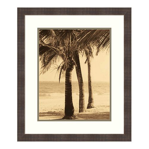 Amanti Art Palm Beach II Framed Wall Art