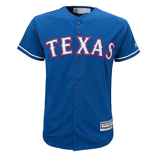 Boys 8-20  Texas Rangers Replica Jersey