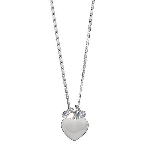 LC Lauren Conrad Heart Pendant Necklace