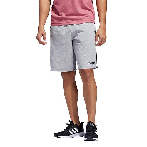 Men's adidas Essential 3-Stripe Jersey Shorts