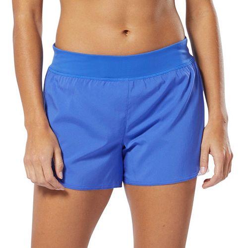 Women's Reebok Workout Ready Knit & Woven Midrise Shorts