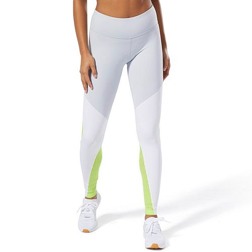 Women's Reebok OS Lux Color Block Midrise Leggings