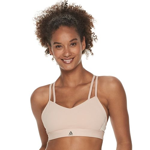 b9c2f18e91 Reebok Hero Strappy Padded Medium-Impact Sports Bra