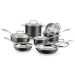 Cuisinart Black Stainless Collection 11-Pc. Cookware Set