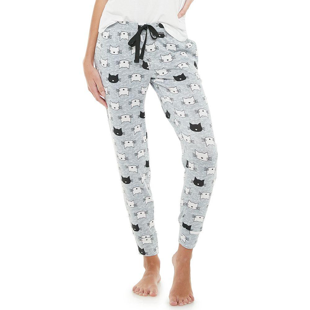 PJ Couture Cozy Soft Banded-Bottom Pajama Pants
