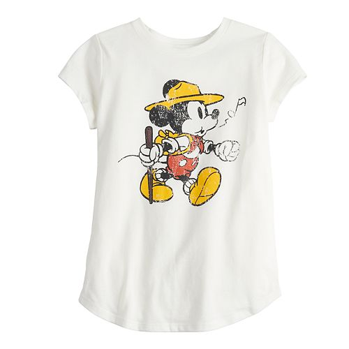 Disney's Mickey Mouse Girls 4-6x Parks Graphic Tee by Family Fun