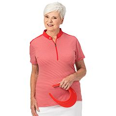 Plus Size Nancy Lopez Short Sleeve Polo