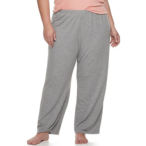 Plus Size SONOMA Goods for Life™ Wide Leg Pajama Pants