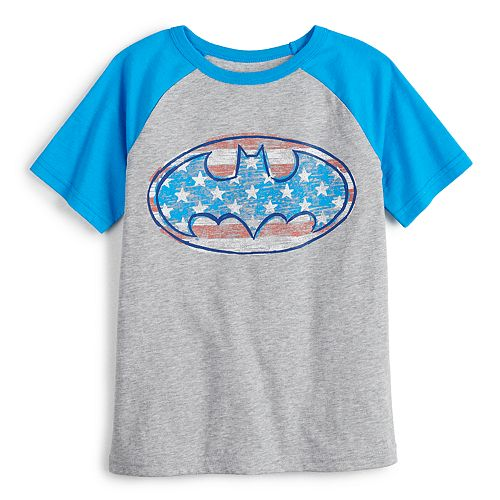 Boys 4-12 Jumping Beans® Batman Patriotic Graphic Tee