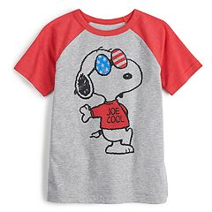 90a5f7577 Boys 4-12 Jumping Beans® Snoopy USA Graphic Tee