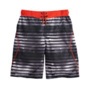 Boys 8-20 ZeroXposur Galactic Surf Swim Shorts
