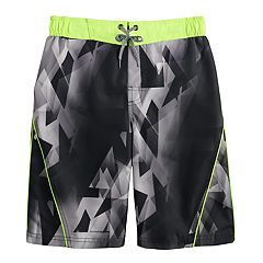 Boys 8-20 ZeroXposur Fragmented Swim Shorts