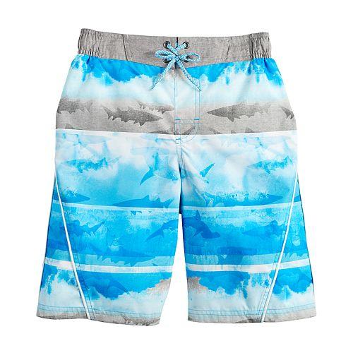 Boys 8-20 ZeroXposur Washed Ashore Swim Shorts