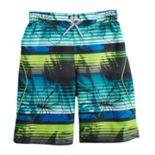 Boys 8-20 ZeroXposur Tropical Flower Swim Shorts