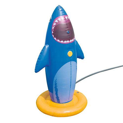 H2OGO! 29 Inches x 29 Inches x 52 Inches Shark Splash Boxer