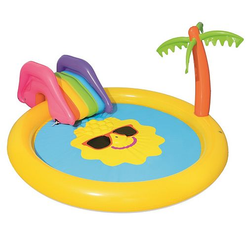 "H2OGO! 7'9"" x 6'7"" x 41"" Sunnyland Splash Play Pool"