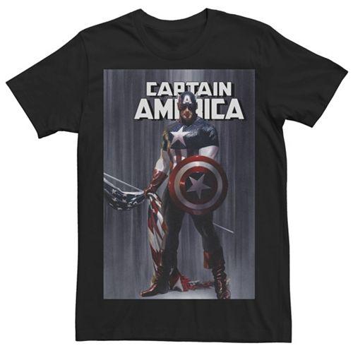 Men's Captain America Tee