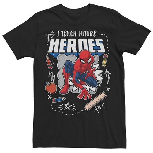 Men's Spider-Man Teacher Tee