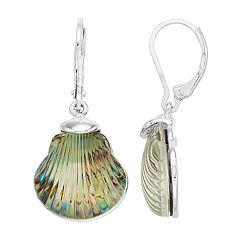 Napier Seashell Drop Earrings