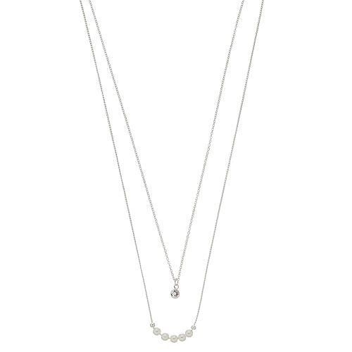LC Lauren Conrad Double Strand Necklace