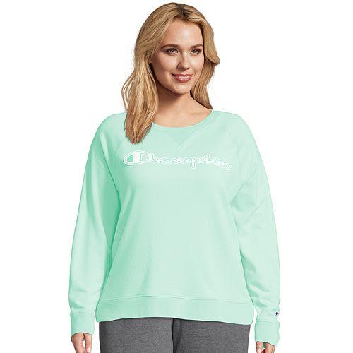 Plus Size Champion Heritage French Terry Logo Sweatshirt