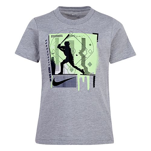 Boys 4-7 Nike Textured Baseball Graphic Tee
