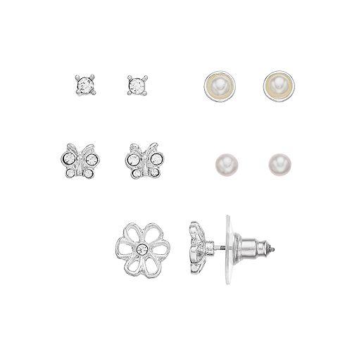 LC Lauren Conrad Earring Set