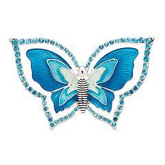 Napier Blue Butterfly Pin