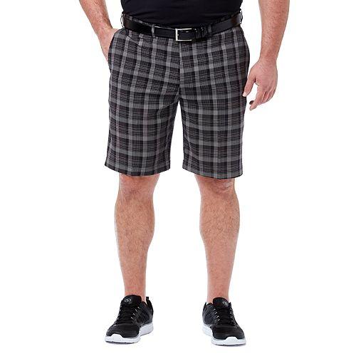 Men's Haggar® Big & Tall Plaid Shorts
