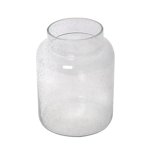 SONOMA Large Bubble Glass Vase