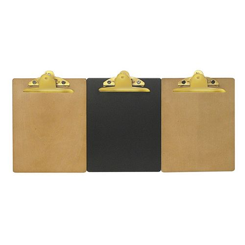 SONOMA Wooden Clipboard (Set of 3)