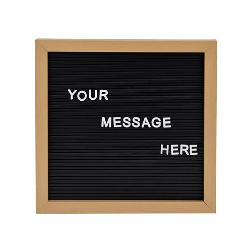 SONOMA Square Letter Board