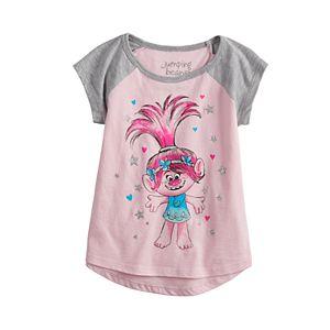 8d34d2a0d4148 Toddler Girl Jumping Beans® DreamWorks Trolls Poppy & Branch Graphic Tee