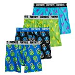Boys 8-12 Fortnite 4-Pack Boxer Briefs