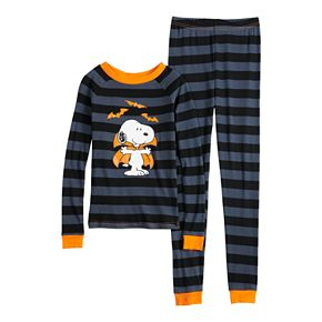 Boys 4-8 Peanuts Snoopy Halloween 2-Piece Pajama Set