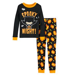 Boys 4-8 Batman Halloween 2-Piece Pajama Set