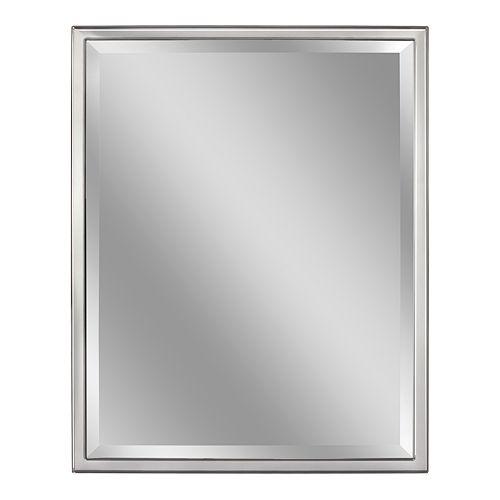 Head West Classic Chrome Wall Mirror