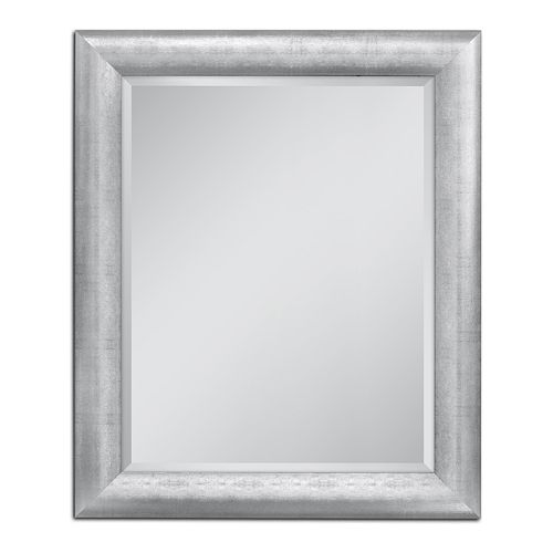 Head West Chrome Pave Weave Wall Mirror