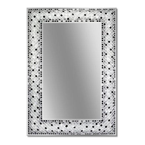 Head West Checkered Mosaic Wall Mirror